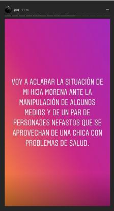 Jorge Rial Instagram Stories