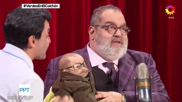 Lanata con bebé