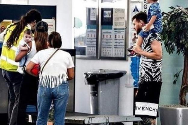 Lionel Messi prolonga sus vacaciones. ‹ › 8a401ee1193
