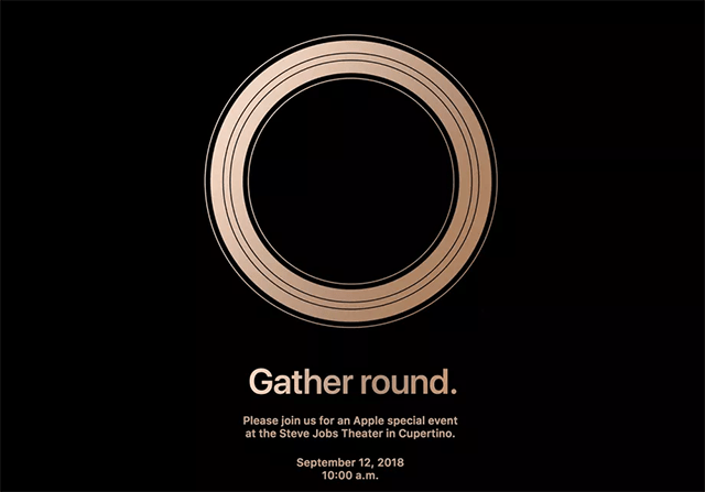 Invitación nuevo Iphone