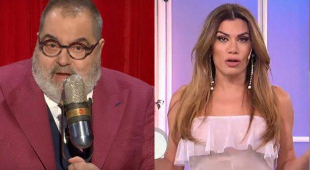 Jorge Lanata y Flor de la V