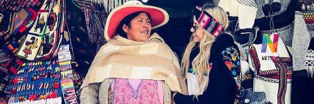 Karol Sevilla en Bolivia
