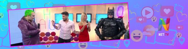 Tenemos Wifi Batman y El Guasón