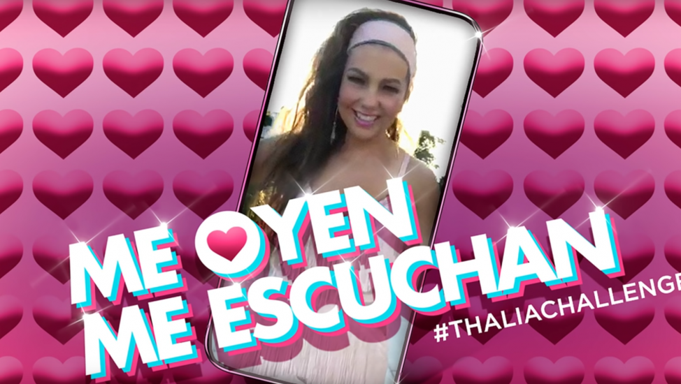 Video Thalía Challenge