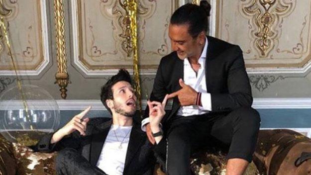Alejandro Fernández y Sebastián Yatra