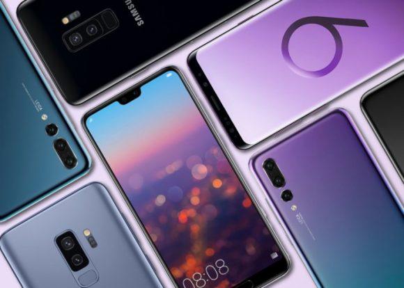 Huawei y Samsung