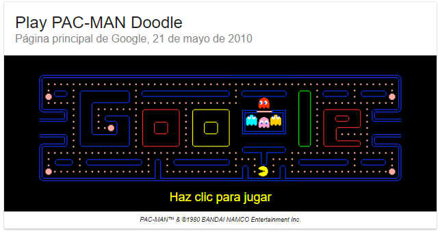Los Juegos Secretos De Google