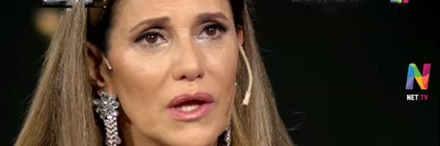 María Fernanda Callejón llora