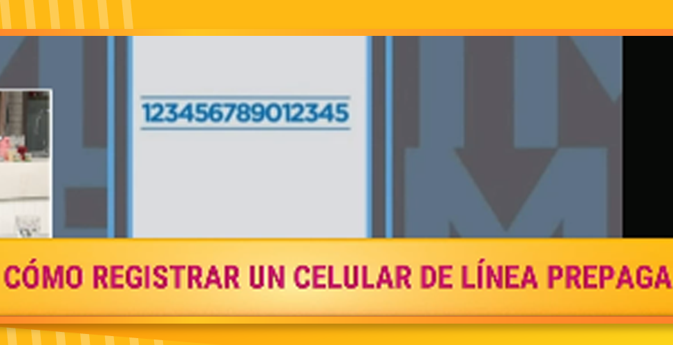 Registrar celular línea prepaga