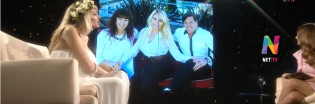 Vicky Xipolitakis habló de sus padres
