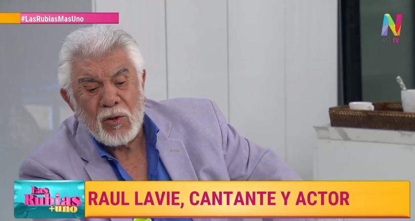 """Raul Lavie: Raúl Lavié: """"Voy Siempre A Visitar A Pinky Al Geriátrico"""""""