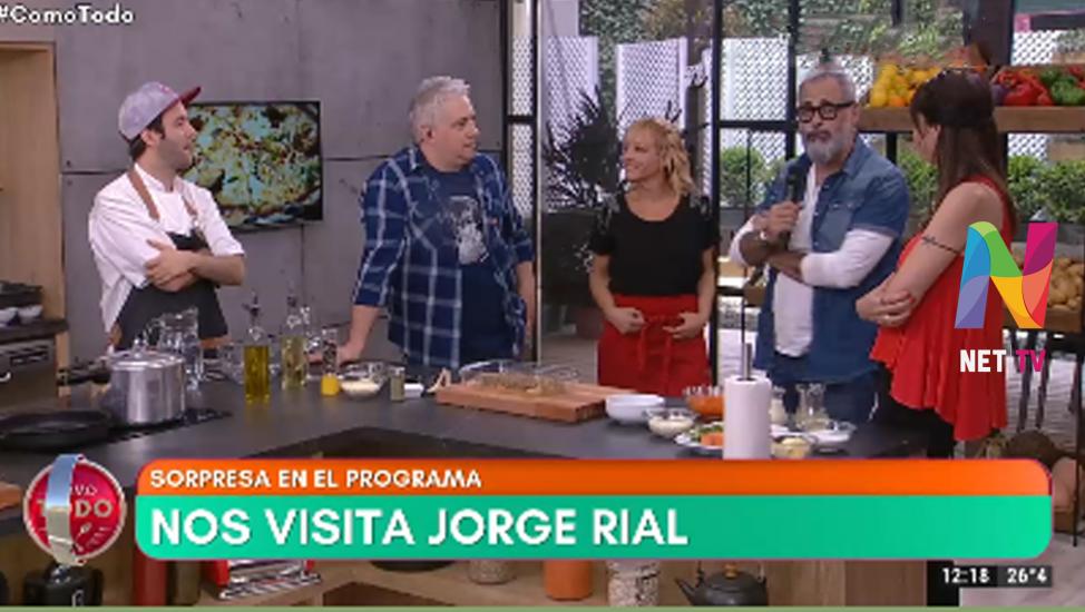 Jorge Rial en Como Todo