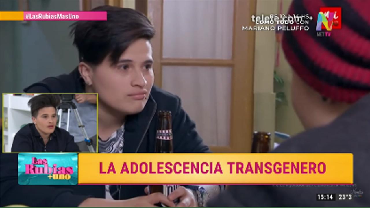 Lautaro Giménez y un duro relato sobre su transición de identidad