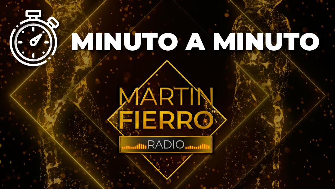 Seguí el minuto a minuto de los #MartinFierroDeRadio