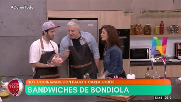 Paco ALmeida sandwiches de bondiola