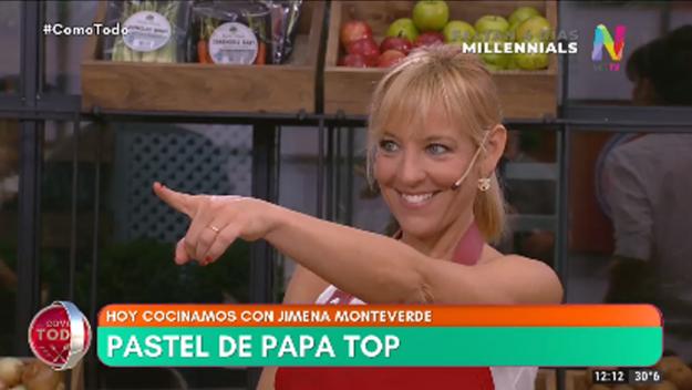 Pastel de papa top Jimena Monteverde