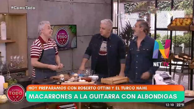 Roberto Ottini albóndigas a la guitarra