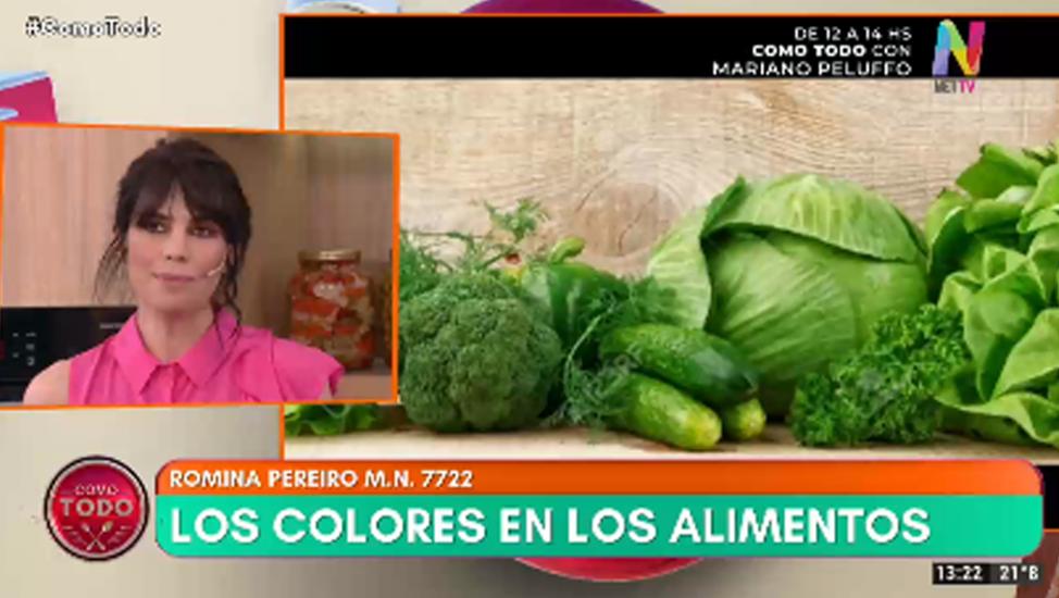 Romina Pereiro colores de los alimentos