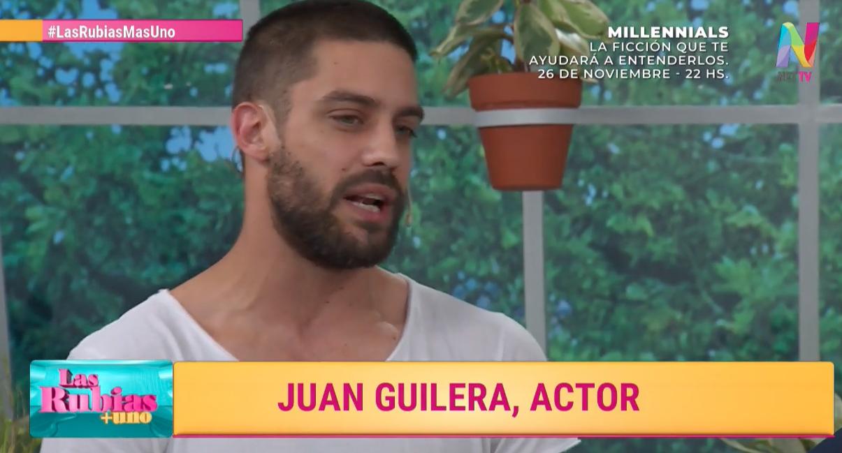 """Juan Guilera sobre Millennials: """"Fue un seminario de escenas eróticas"""""""