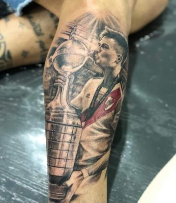Los Mejores Tatuajes De Los Hinchas De River Tras Ganar La Copa