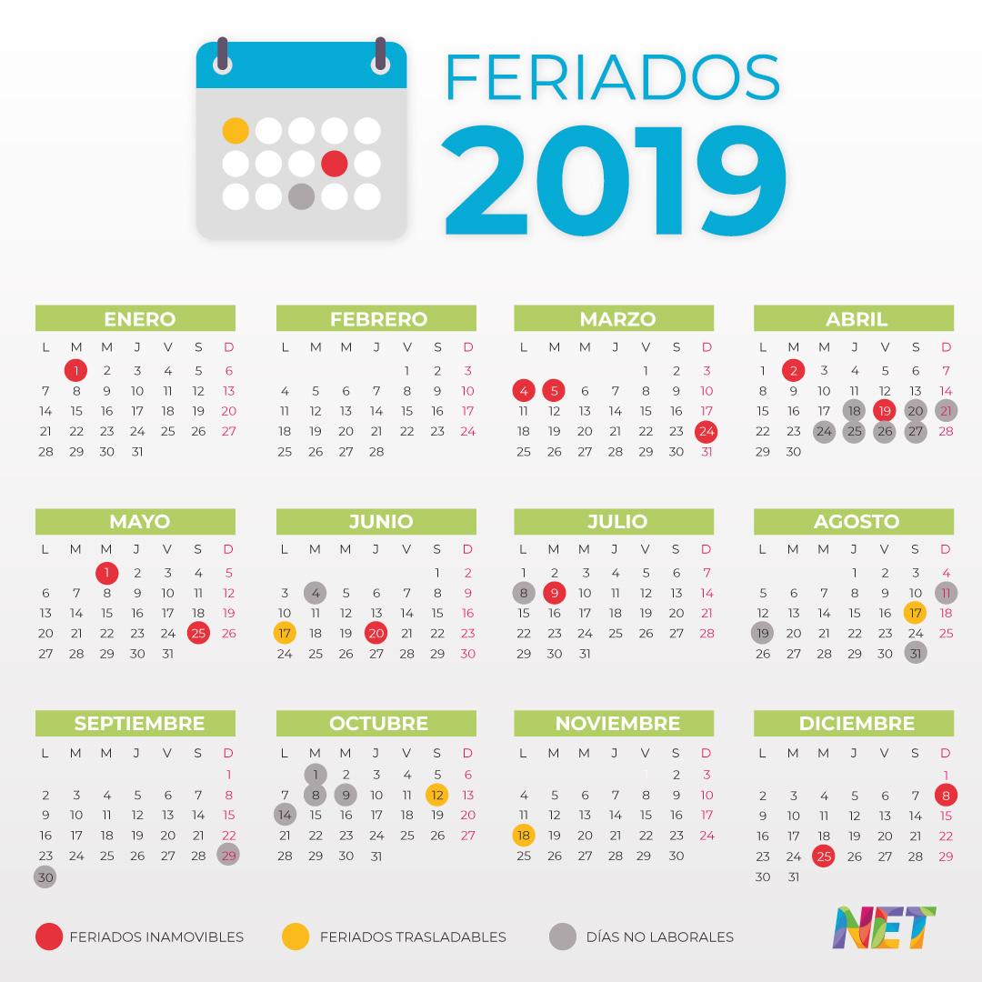 Calendario 2019 Julio Chile.Estos Son Los Dias Feriados Y Puentes Que Quedan En 2019