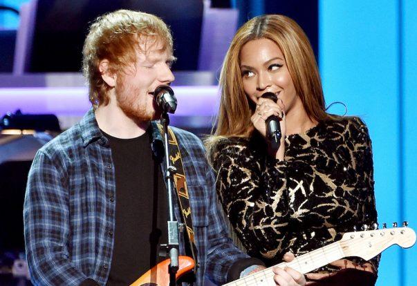 Ed Sheeran y Beyoncé