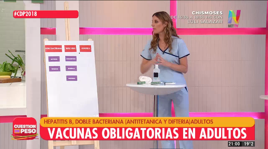 Vacunas obligatorias en adultos