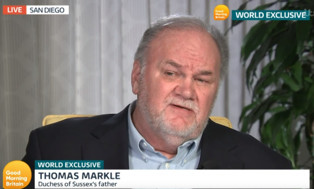 Thomas Markle en Good Morning Britain