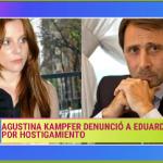Agustina Kampfer y Eduardo Feinmann