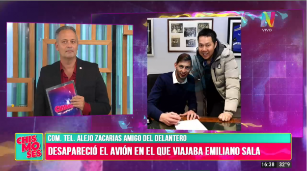 Comunicación con Alejo Zacarías, amigo de Emiliano Sala