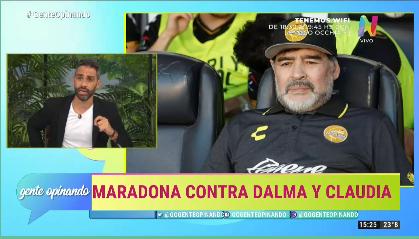 Diego Maradona. Separación de Rocío Oliva