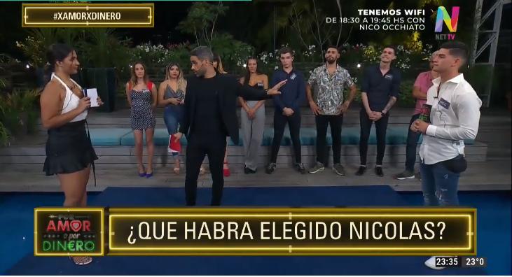 Elección de Paula y Nicolás