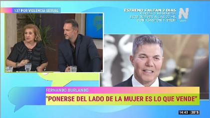 Fernando Burlando en Gente Opinando