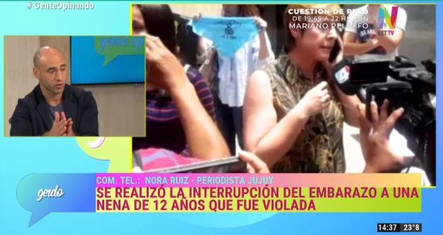 Interrupción del embarazo de la niña de 12 años que fue violada