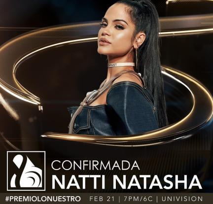 Natti Natasha Premios Lo Nuestro