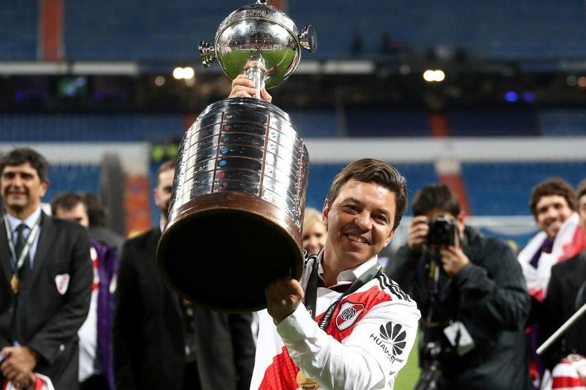 Marcelo Gallardo, el entrenador más campeón del mundo