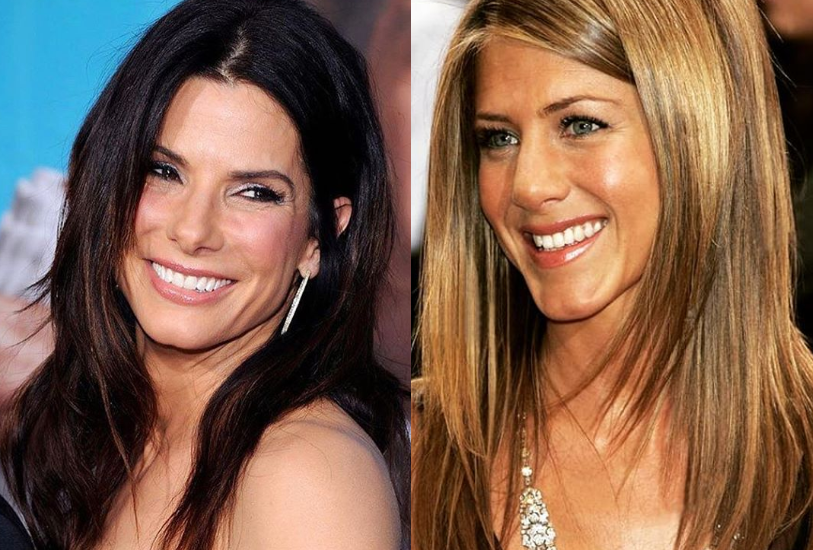 Sandra Bullock y Jennifer Aniston