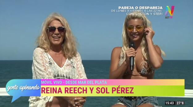 Reina Reech y Sol Pérez