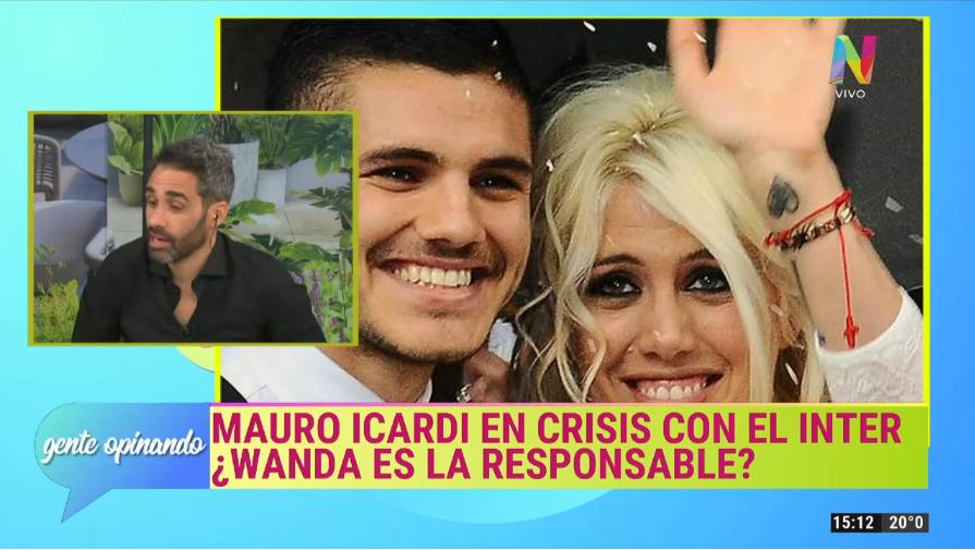 Mauro Icardi y Wanda Nara