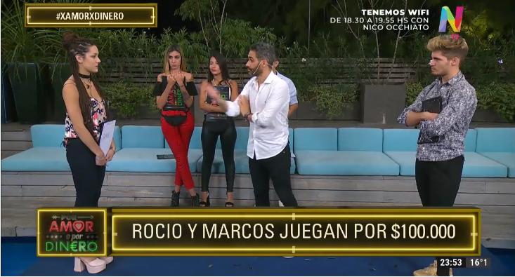 Rocío y Marcos juegas a Por Amor O Por Dinero