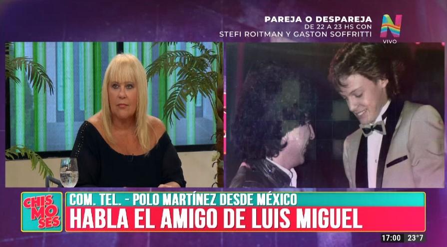 El confidente de Luis Miguel contó detalles reveladores de su vida