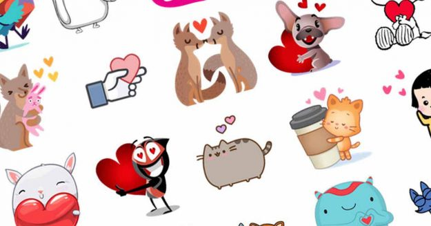 Stickers amor WhatsApp
