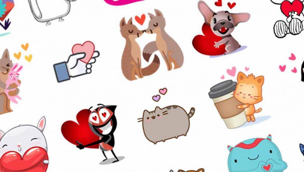 Stickers amor WhatsApp