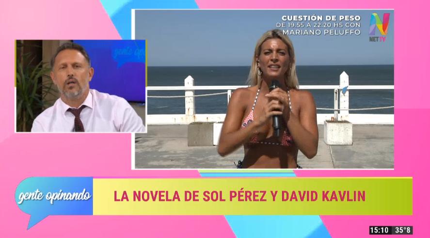 Sol Pérez durísima con David Kavlin por su cruce con Javier Milei