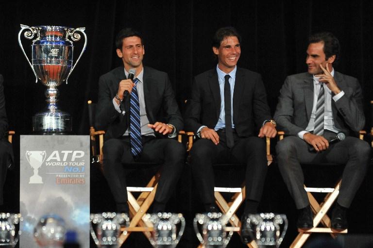 La guerra menos pensada: Federer y Nadal vs. Djokovic
