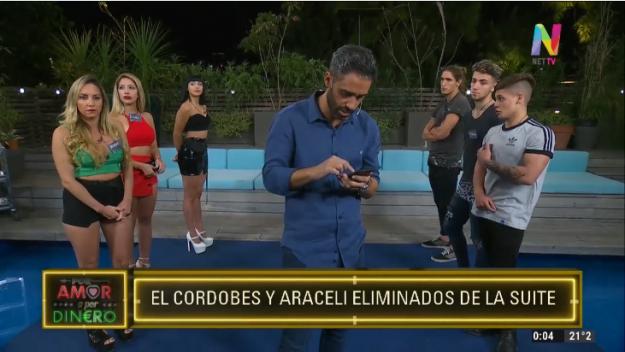 Araceli y Agustín eliminados