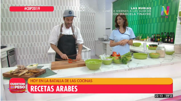 Cocina saludable recetas árabes
