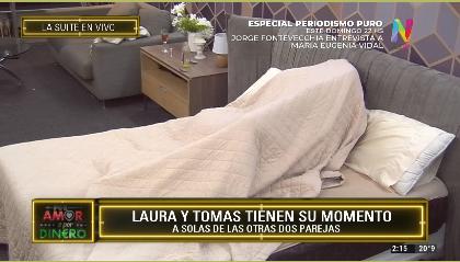 Laura y Tomás otra vez bajo las sábanas