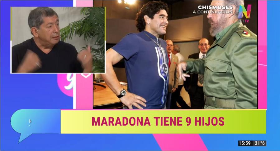 Lito Pinto acerca de Maradona