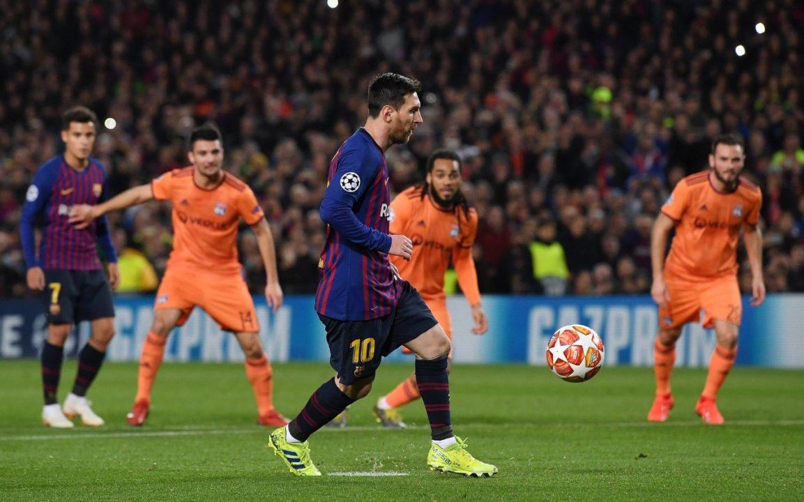 Lionel Messi la picó con extrema sensibilidad y explotó Twitter